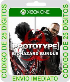 Pacote Prototype® Biohazard Xbox One - Código De 25 Dígitos