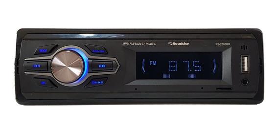 Som Automotivo Roadstar Rs-2603br Bluetooth Com Controle