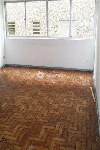 Apartamento Com 1 Dorm, Marapé, Santos - R$ 217 Mil, Cod: 1070 - V1070
