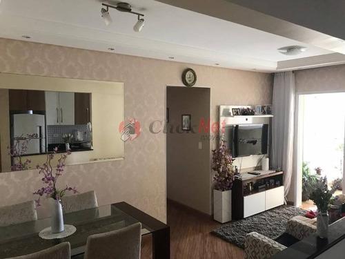 Imagem 1 de 30 de Lindo Apartamento Localizado Na Vila Dusi Em São Bernardo Do Campo Com 3 Dormitórios - 5906