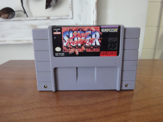 Street Fighter 2 Cartucho Snes Super Nintendo Original @