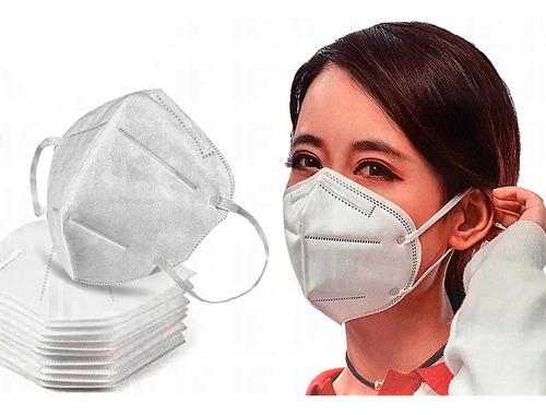 Imagem 1 de 5 de Kit 20 Máscaras Kn95 Proteção Respiratória Pff2 N95