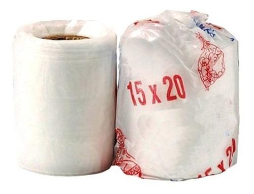 Imagen 1 de 1 de Pack 10u Rollo Bolsas De Arranque 15 X 20