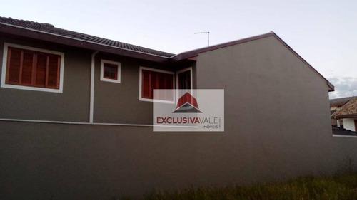 Casa / Sobrado Com 3 Dormitórios À Venda, 180 M² Por R$ 465.000 - Loteamento Residencial Vista Linda - São José Dos Campos/sp - Ca0759