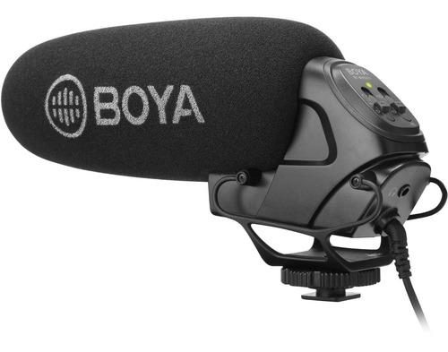 Microfono Boya By-bm3031 Para Camaras Tipo Rode Videomic Pro