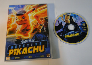 Dvd - Pokémon - Detetive Pikachu - Dublado E Legendado