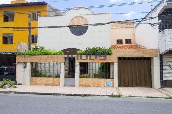 Casa Residencial À Venda, Montese, Fortaleza. - Ca0358