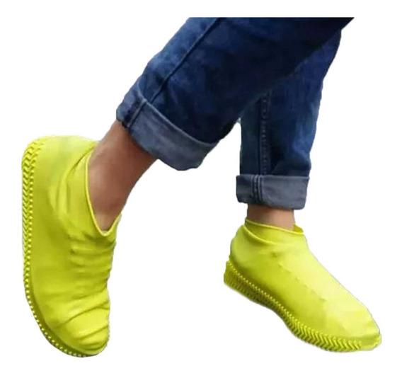 Cubre Zapato Tenis Impermeable Lluvia Silicon Protector