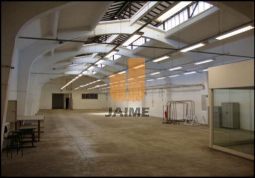 Galpão Para Venda / Locação No Bairro Campos Elíseos Em São Paulo - Cod: Ja11322 - Ja11322
