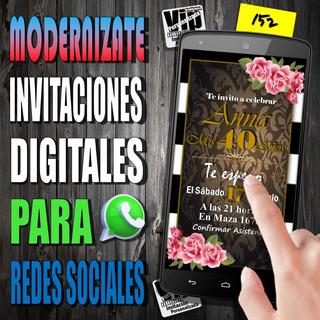 Invitaciones Digitales 15 Años En Mercado Libre Argentina