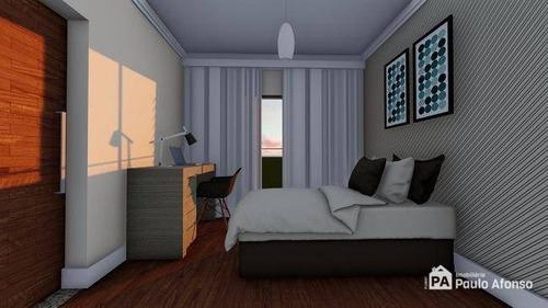 Apartamento Com 3 Dormitórios À Venda, 86 M² Por R$ 420.000,00 - Residencial Summerville - Poços De Caldas/mg - Ap1467