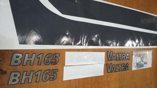 Imagem 1 de 4 de Kit Faixa Adesivo Trator Valtra Valmet Bh 165