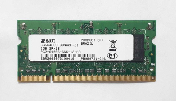Memoria Notebook Smart Ddr2 1gb