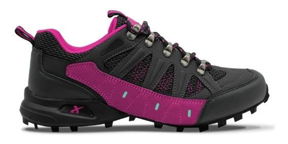 Zapatillas Montaña Trekking Mujer Jaguar 35-40 Art 3005