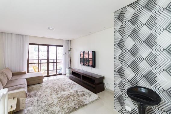 Apartamento No 3º Andar Mobiliado Com 3 Dormitórios E 2 Garagens - Id: 892829109 - 129109