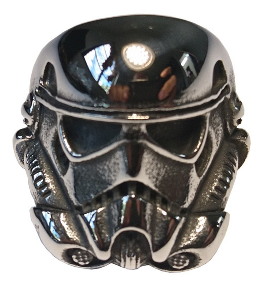 Anillo De Acero Inoxidable Stormtrooper