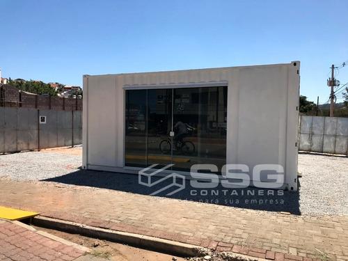 Conteiner 6 M Marítimo Stand Vendas Showroom Locação Mensal
