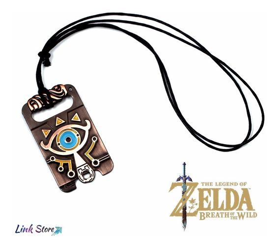 Colar The Legend Of Zelda Breath Of The Wild Sheykah Eye - Item Colecionador