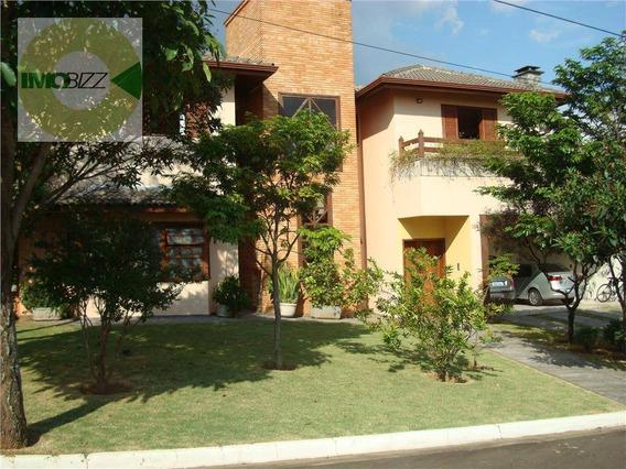 Casa Residencial À Venda, Condomínio Moinho Do Vento, Valinhos - Ca0253. - Ca0253