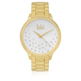 Relógio Feminino Dumont Analógico Du2036lsq/k4k Dourado