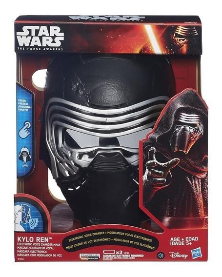 Star Wars Ep 8 Máscara Eletrônica Kylo Ren - Hasbro B3927