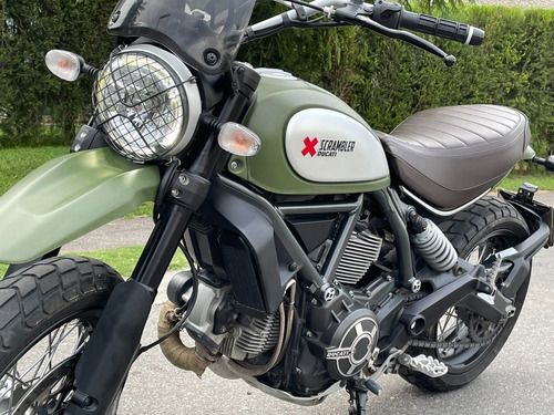 Ducati Scrambler 800 Urban Enduro Igual A Nueva!!!