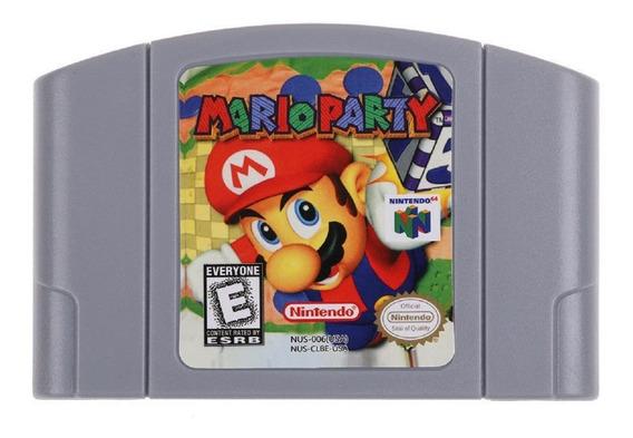 Mario Party Americano Estratégia Nintendo 64 N64 Novo