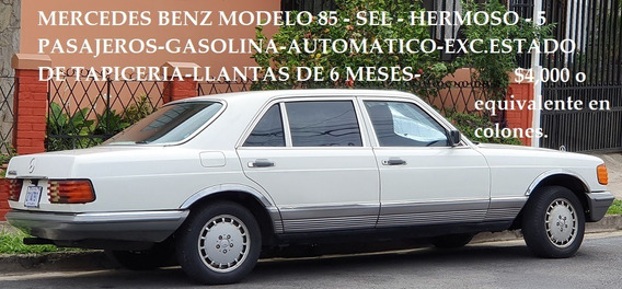 Mercedes Benz 1985 En Excelente Estado.