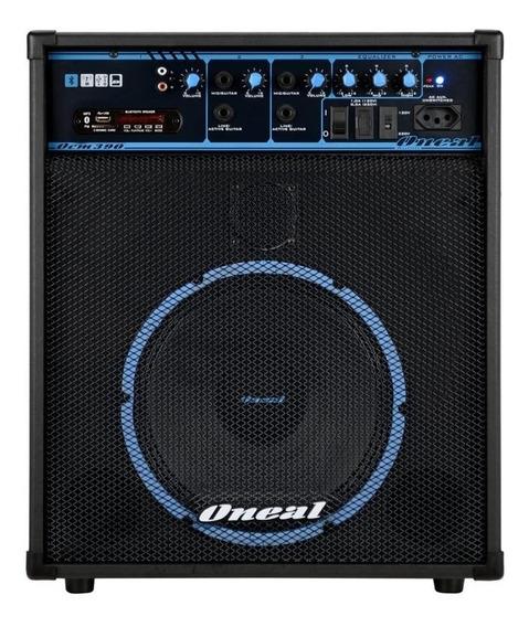 Caixa Multiuso Oneal Ocm 390n Bt 80w Bluetooth Usb Sd Bivolt