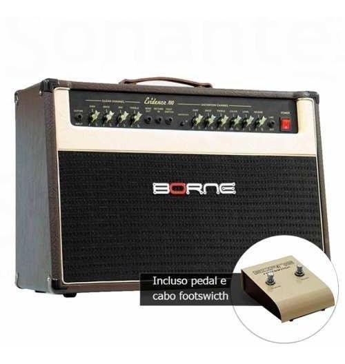 Cubo Ativo Para Guitarra Borne Fal 12 Pol 150w Evidence 200
