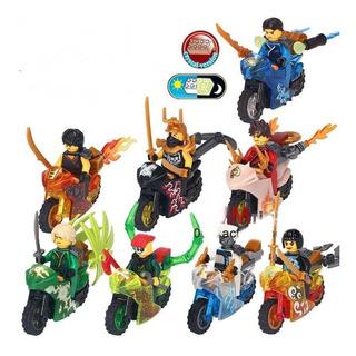 Ninjago Set 8 Lego Compatibles