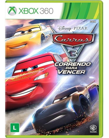 Jogo Xbox 360 Carros 3: Correndo Para Vencer - Novo
