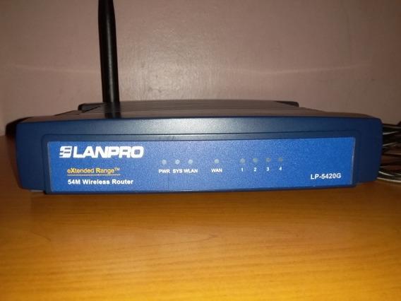 Router Lanpro Lp-5420g B/g 54 Mbps