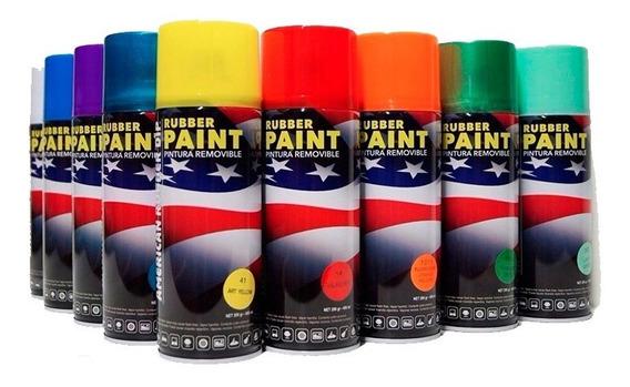 Pintura American Rubber Dip - Camaleones - Removible - Pcd