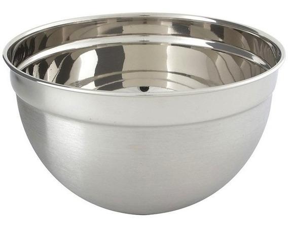 Recipiente Bowl Inox P/ Uso Culinário Cozinha Casa Utilidade