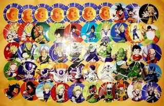 Tazos Cheetos Dragonball (méxico) Coleção Completa (100)