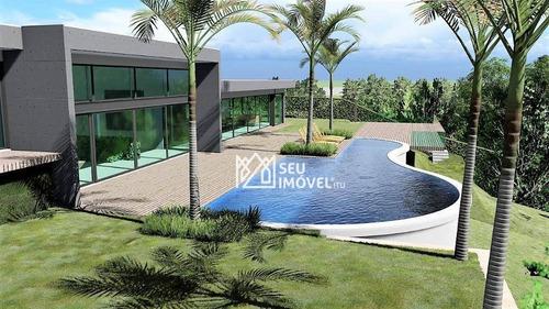 Casa Com 5 Dormitórios À Venda, 550 M² Por R$ 5.900.000,00 - Fazenda Vila Real De Itu - Itu/sp - Ca2061