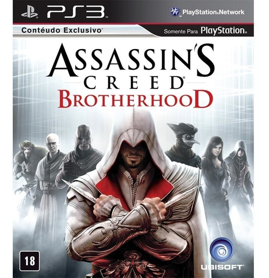 Assassins Creed Brotherhood | Ps3 / Playstation 3 M. Fisica