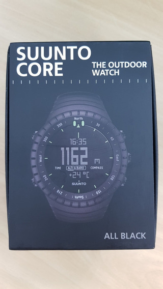 Relógio Suunto Core All Black Novo Original