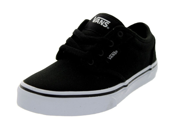 Vans Canvas Black White Talla 16 Nuevos Originales!!!!