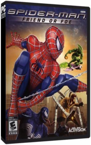 Spider-man Friend Or Foe Pc Dvd Mídia Física - Frete 8 Reais