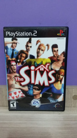 The Sims Playstation 2 Original Completo Black Label