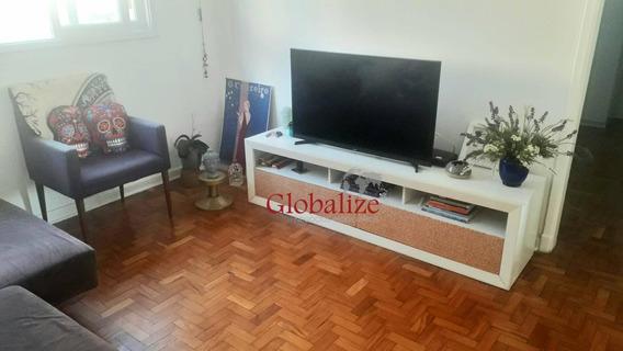Apartamento Com 2 Dormitórios Para Alugar, 70 M² Por R$ 1.700,00/mês - Pompéia - Santos/sp - Ap0423