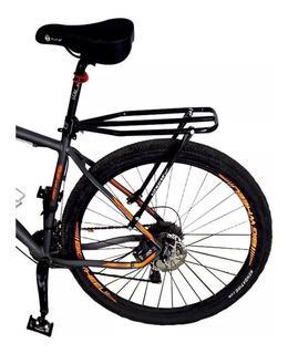 Bagageiro Garupa Traseiro P/ Bicicleta Universal Ajustável