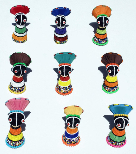 Imagen 1 de 2 de Las Munequitas Sudafricanas De La Suerte, Artesanias Africa