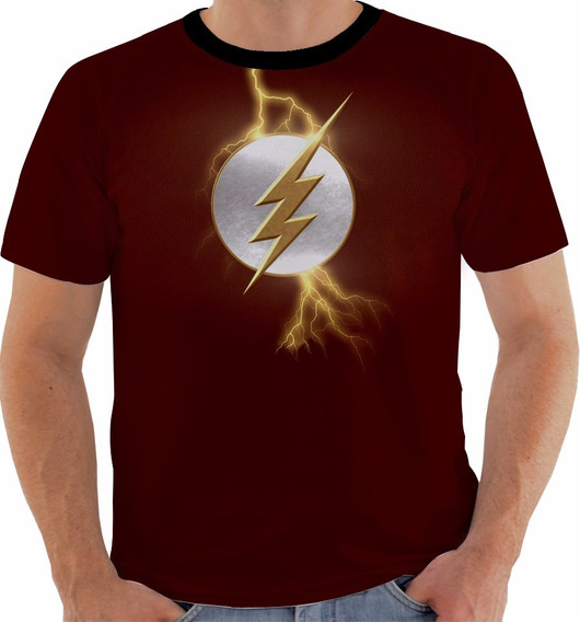 Camiseta The Flash - Dc - Liga Da Justiça - Series - Hq