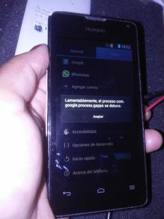 Telefono Huawei Ascend Y 300 Con Detalle