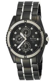 Relógio Feminino Bulova Wb21383p Marine Star Na Caixa