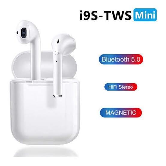 I9 Tws Mini Fone Intra-auruculares Inteligentes Bluetooth.