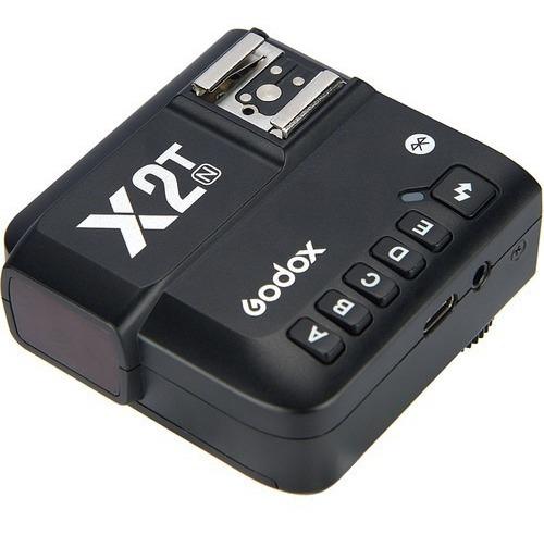 Transmissor Godox X2t Sem Fio Ttl De 2,4 Ghz Para Nikon